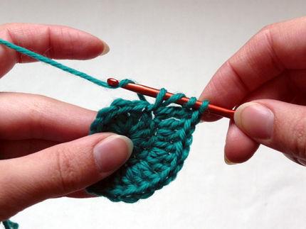 ornamentos crocheted