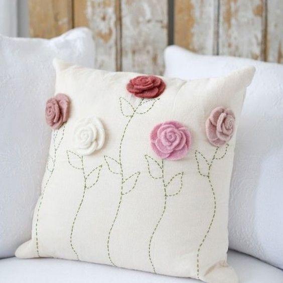 almohadillas de fieltro personalizadas