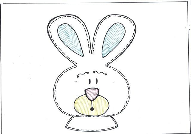 Recuerdo de Pascua en molde de EVA