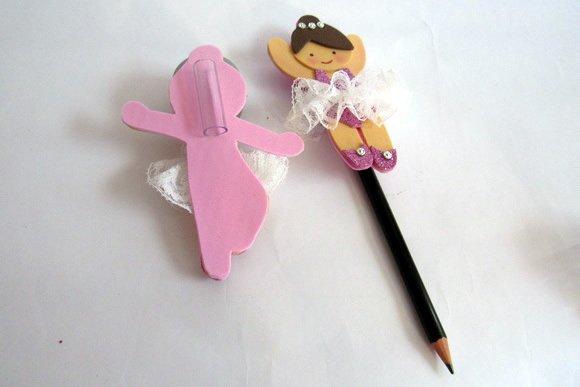 punta de lápiz de bailarina