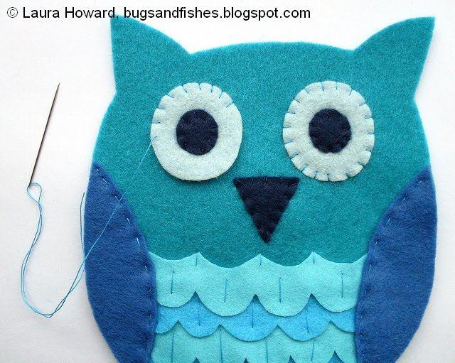 coser las alas y los ojitos