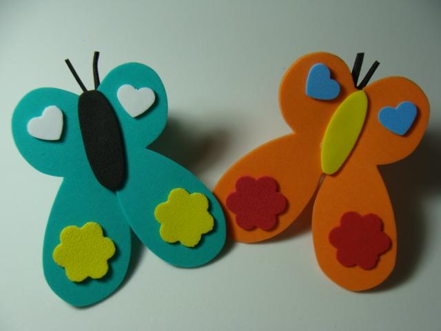 dedos de los pies de mariposa