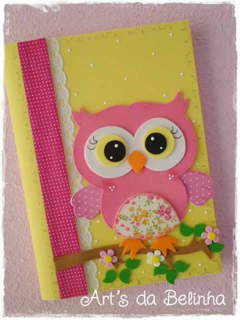cuaderno-decorado-con-búho