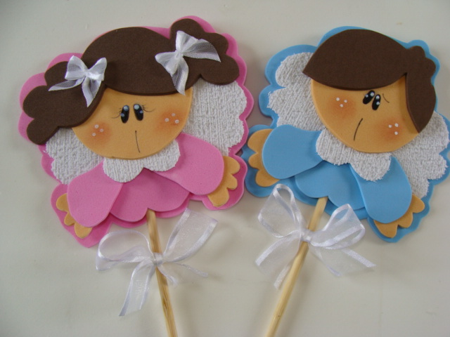 EVA Little Angels para decoración y recuerdo de bautizo
