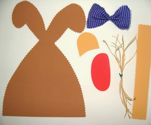 Bunny Garland - Materiales