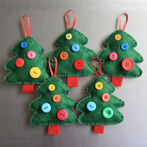 sentí los árboles de navidad