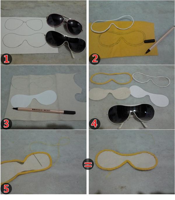 Estuche paso a paso para gafas