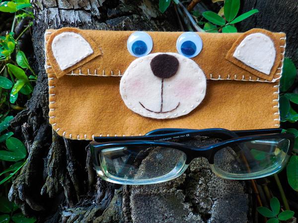 caja de gafas de oso