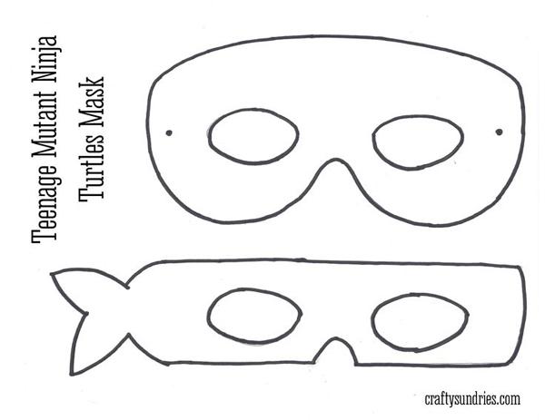 superhéroes en máscara de tortuga ninja de fieltro