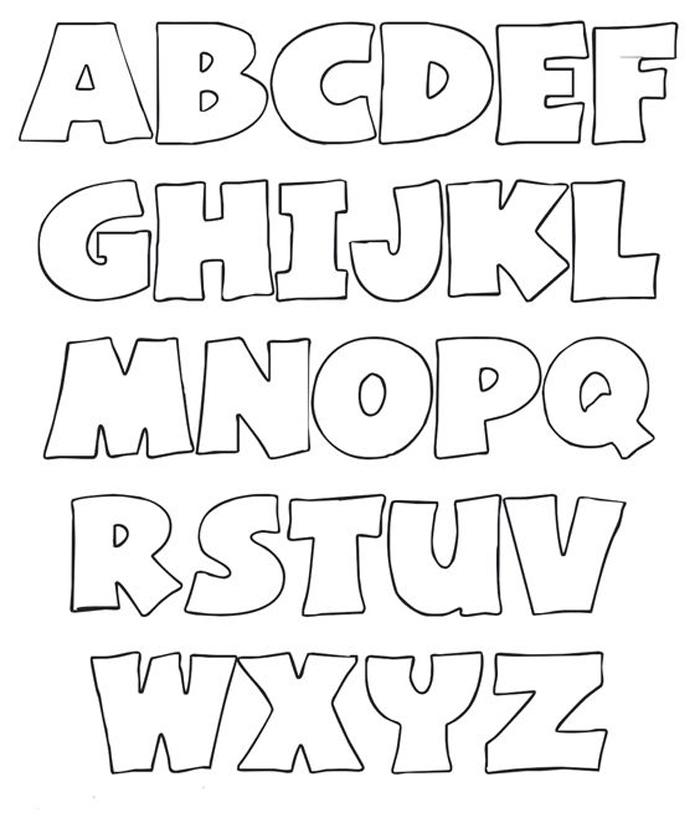 plantilla de llavero de fieltro con letras