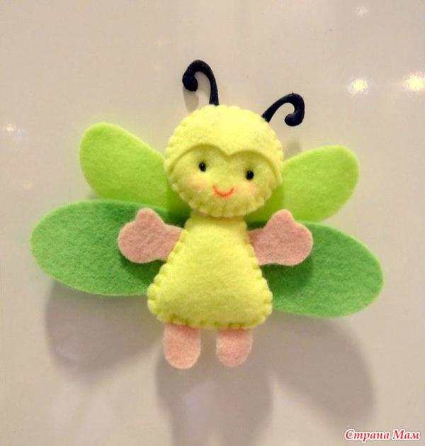 fieltro fieltro abeja
