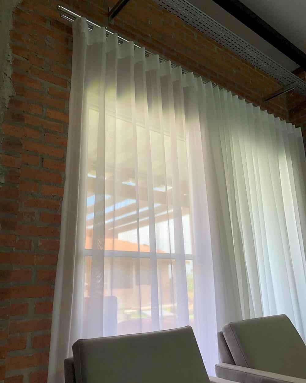 cortina de sala de estar