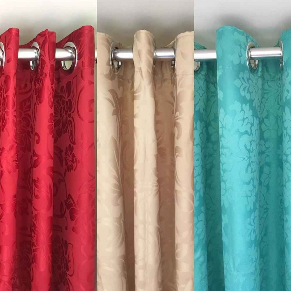 tela de cortina gruesa