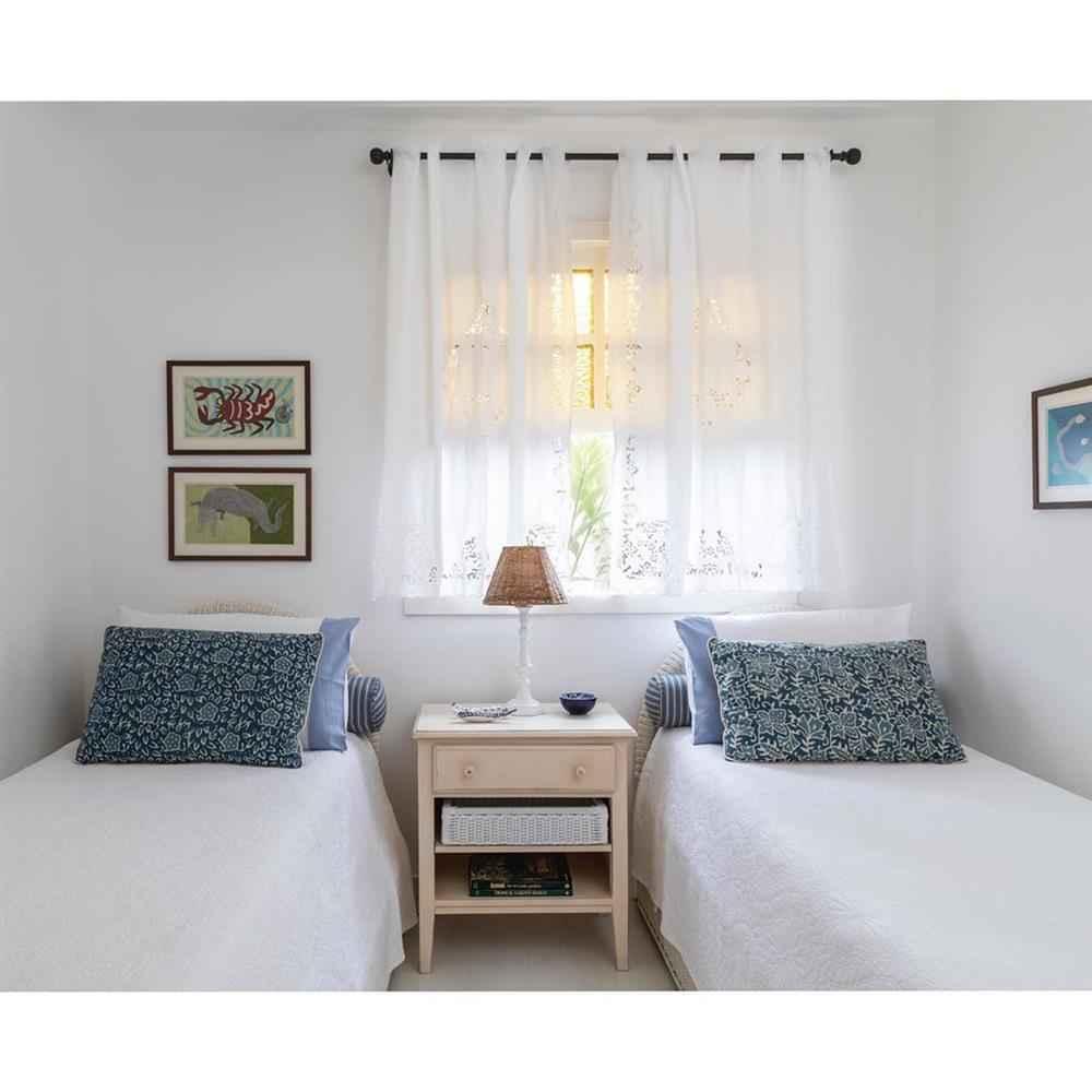 cortina de encaje para dormitorio