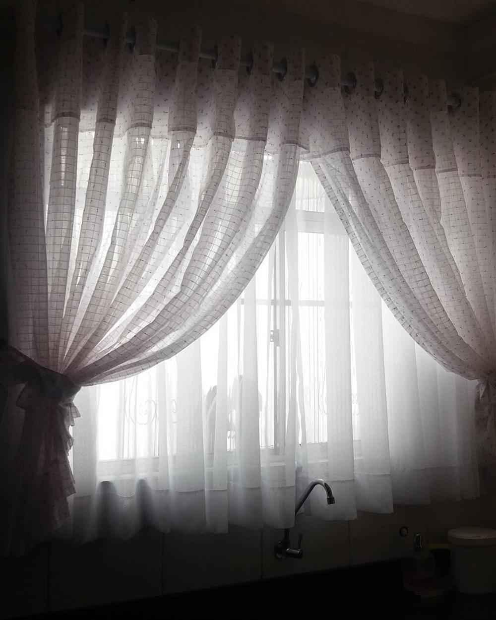 tela de cortina de cocina