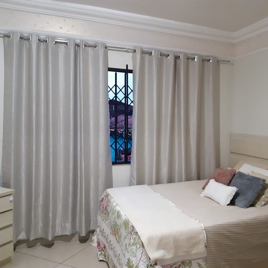 cortina con sello de luz