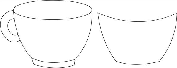 dibujo de copa
