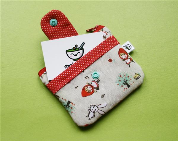bolsa de tela para ahorrar monedas