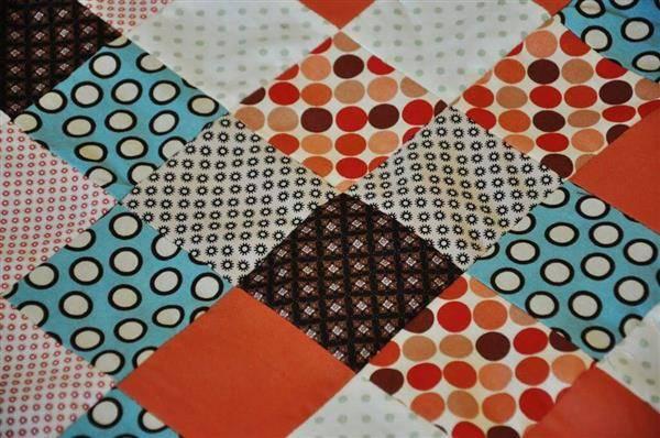 cómo hacer patchwork en la máquina de coser