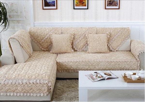 funda de sofá estampada