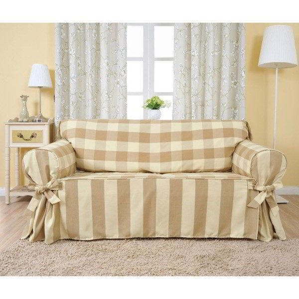 funda de sofá hecha en casa
