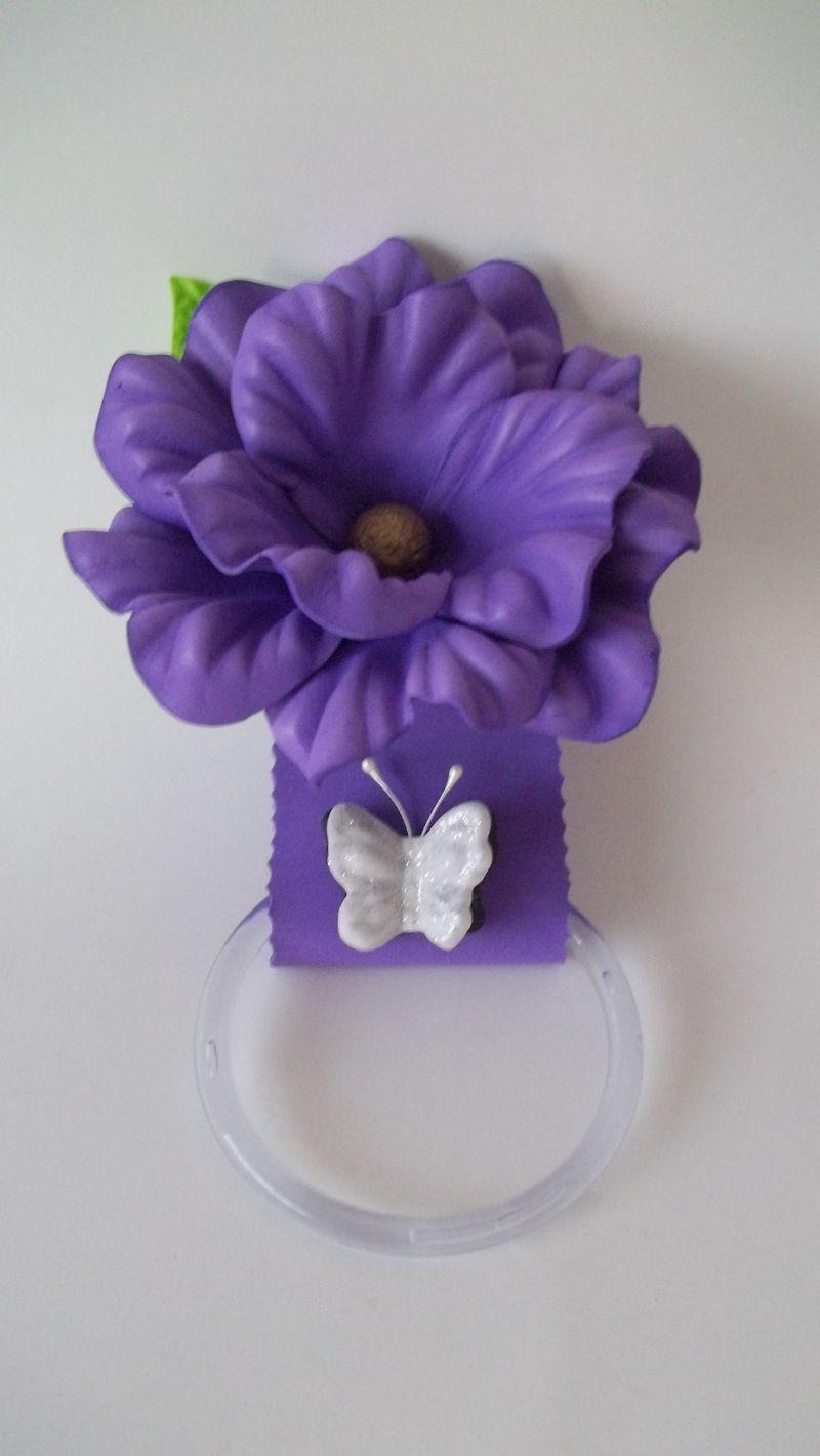 portavasos eva púrpura