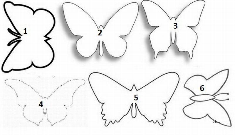 molde de toalla de plato eva mariposa