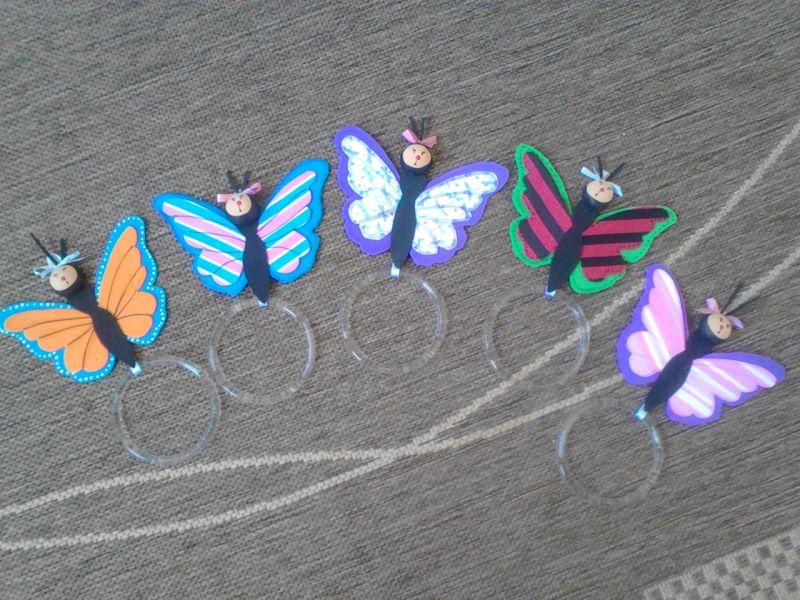 portapaños eva mariposas