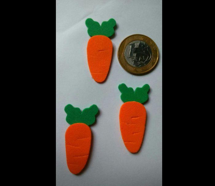 zanahoria en tutorial de eva