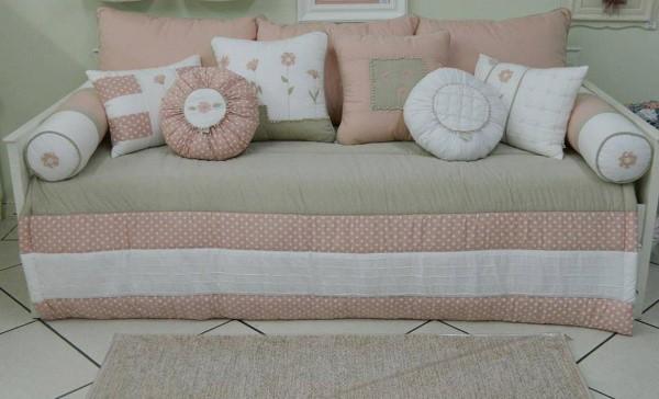 funda de sofá con cojines