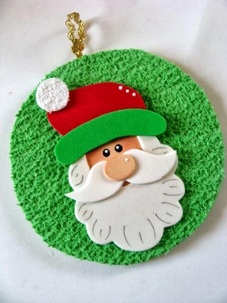 Santa con CD