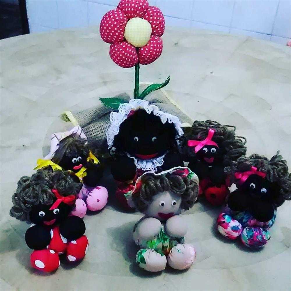 muñeca fuico negro