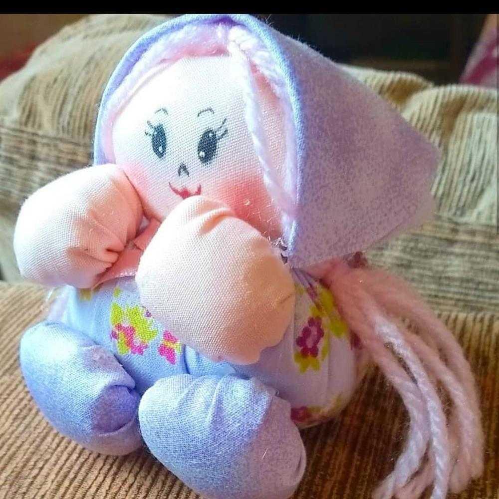 muñeca hecha a mano yo - yo