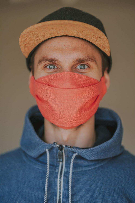 medidas para máscara de tela