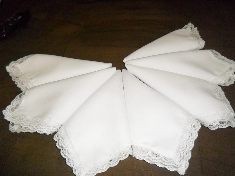 tutorial de servilletas con tela