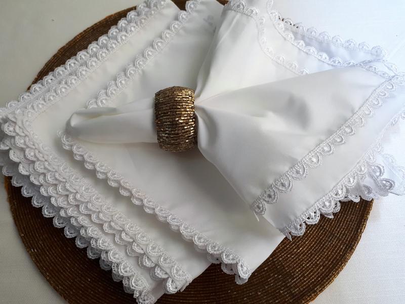 servilleta con tela como hacer