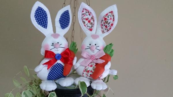Consejos de manualidades de fieltro para Pascua