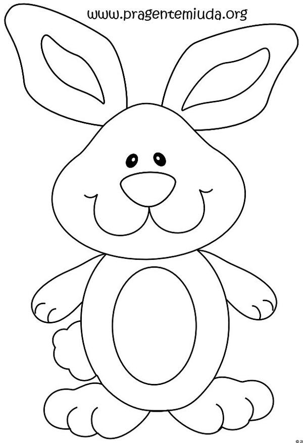 molde de conejo fácil