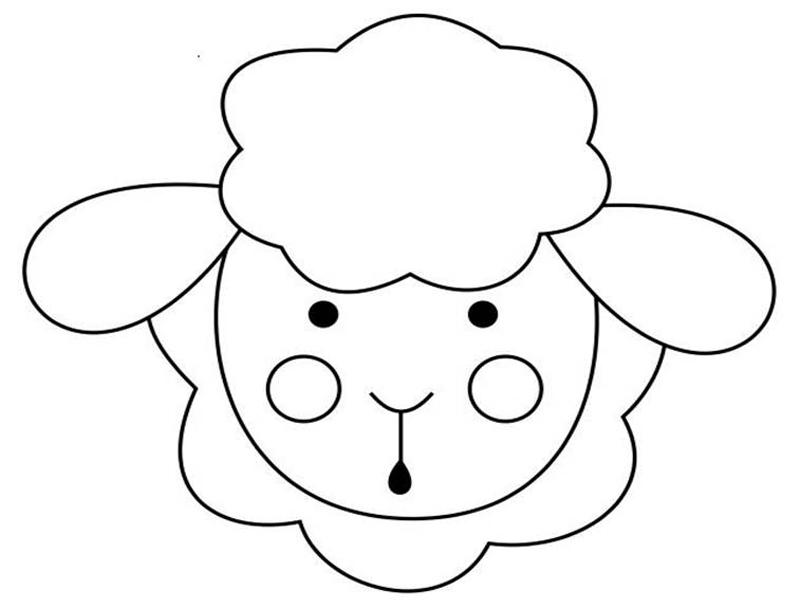 molde de oveja eva