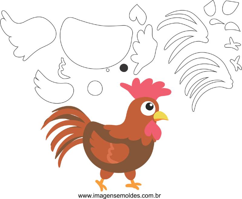 pequeña granja de pollo EVA molde