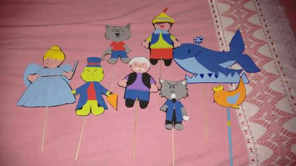 animales de marionetas eva