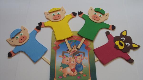 marioneta eva cerdos