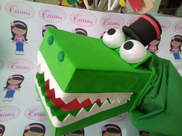 marioneta eva cocodrilo
