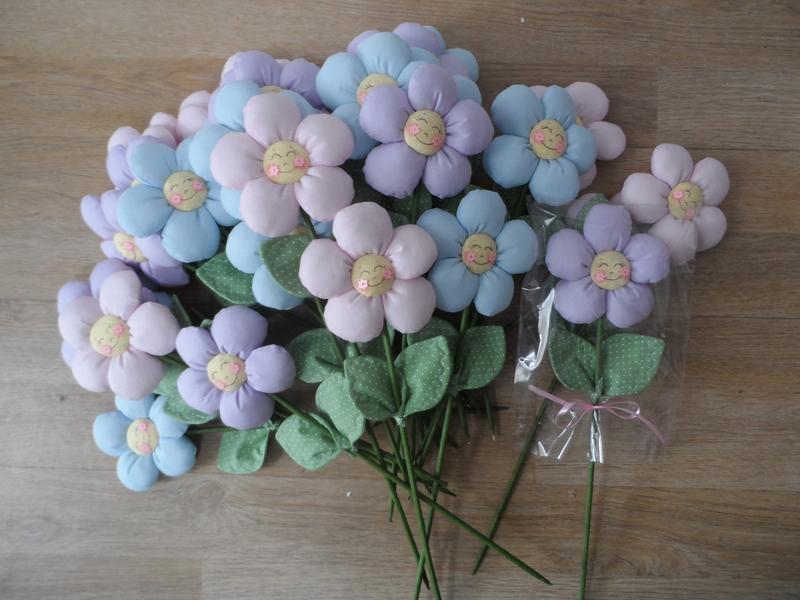 flor con tela completa