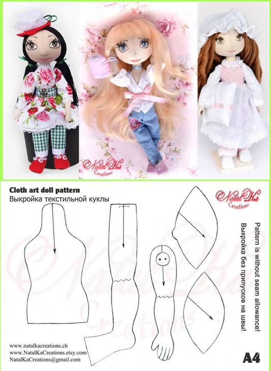 varias muñecas de tela