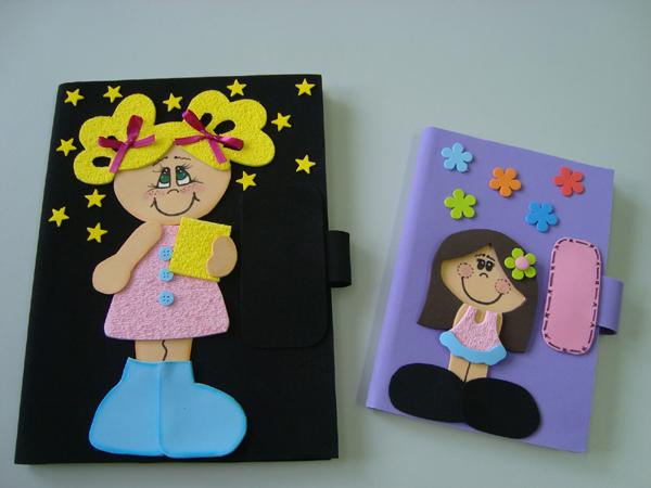 cuaderno con eva con cremallera
