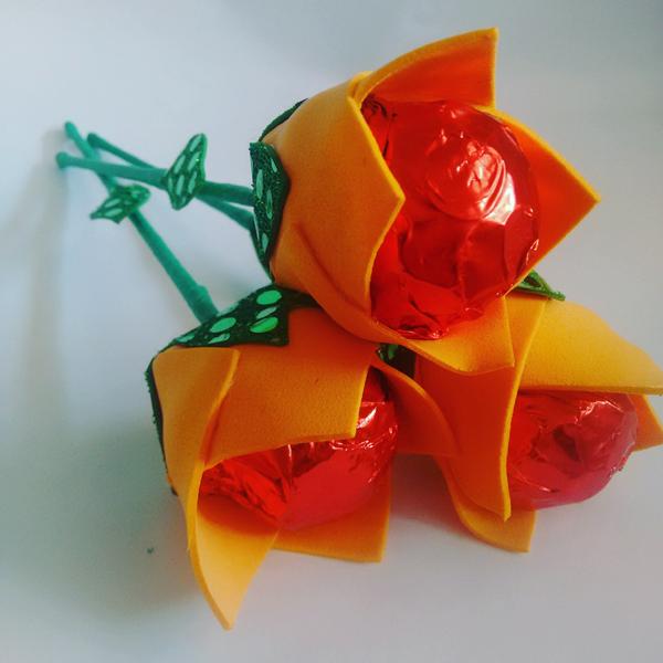 bombonera flor de naranja