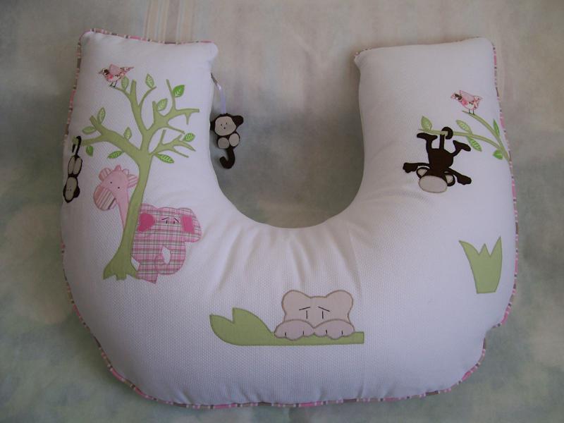 Almohada de lactancia suave
