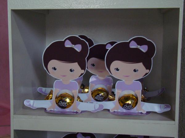 caja de dulces de bailarina