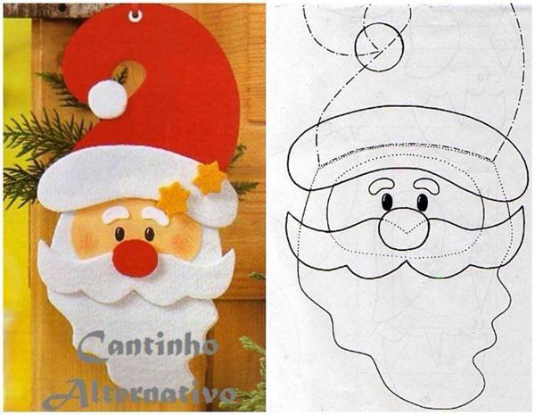 Santa Claus como hacer